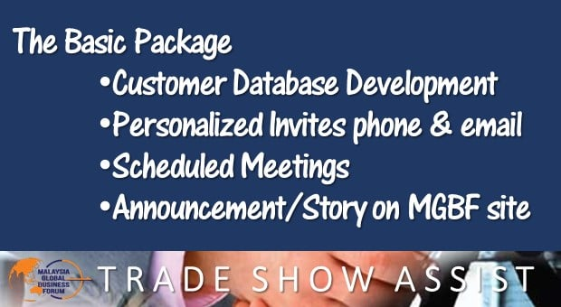 Basic Package - Trade Show Assist