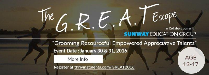 Great Escape 2016 Banner