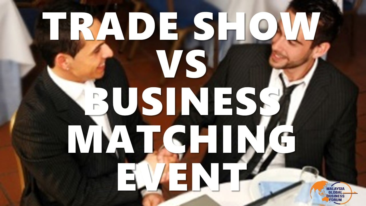 trade show vs business matching