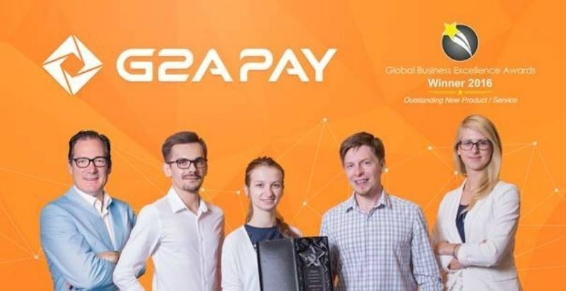 G2A COM Wins Outstanding New Product/Service for G2A Pay and