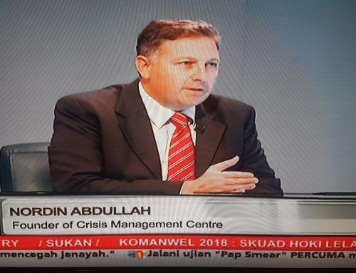 Crisis Management Centre Featured on BERNAMA TV