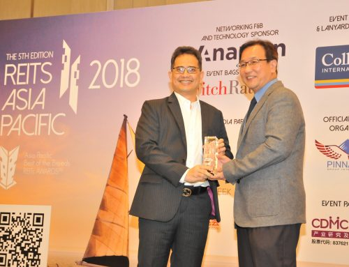Hektar REIT wins Gold at APAC Best of the Breeds REITs Awards