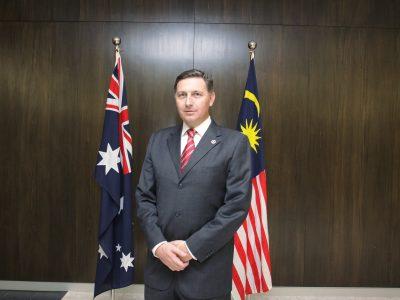 Nordin Profile Photo Malaysia & Australia Flag