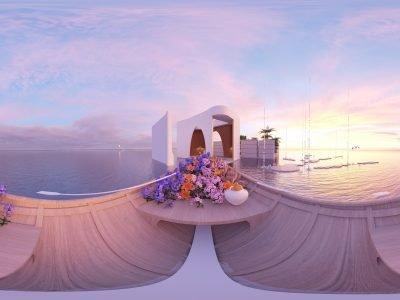 8 Conlay Dreamscape Sunset view